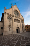 The duomo of S. Maria Assunta, Gemona del Friuli, Stock Image