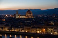 Duomo Santa María Del Fiore en Florencia Fotografía de archivo libre de regalías