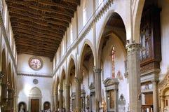 Duomo Santa María Del Fiore. Florencia. Interior. Fotos de archivo libres de regalías