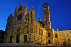 Duomo Santa Maria Assunta in Siena, Tuscany, Italy Stock Images
