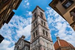 Duomo Santa Maria Del Fiore and Campanile Stock Image