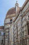 Duomo Santa Maria Del Fiore and Campanile. Dome of Santa Maria cathedral Stock Photography