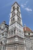 Duomo Santa Maria Del Fiore & Campanile, Florence Stock Photo
