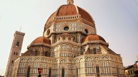 Duomo Santa Maria Del Fiore and Campanile, Florence, Italy Stock Photography