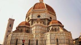 Duomo Santa Maria Del Fiore en Campanile, Florence, Italië Stock Fotografie
