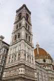 Duomo Santa Maria Del Fiore et campanile Florence, Italie Image stock