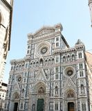 Duomo Santa Maria del Fiore - Florence. Facade of the famous Dome of Florence, Santa Maria del Fiore. Tuscany, Italy Royalty Free Stock Image