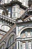 Duomo Santa Maria del Fiore - Florence. Detail of the famous Dome of Florence, Santa Maria del Fiore. Tuscany, Italy Royalty Free Stock Photography