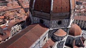 Duomo Santa Maria Del Fiore in Florence stock footage