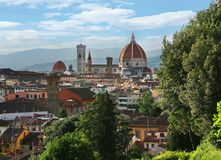 Duomo Santa Maria Del Fiore Florence Cathedral in Florenz, Italien lizenzfreie stockbilder