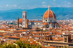 Duomo Santa Maria Del Fiore in Florence, Italy Stock Photo