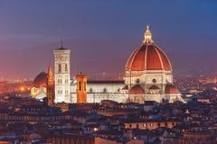 Duomo Santa Maria Del Fiore in Florence, Italy Stock Photos