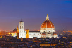 Duomo Santa Maria Del Fiore in Florence, Italy stock image