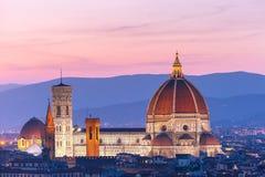 Duomo Santa Maria Del Fiore in Florence, Italy Stock Photography