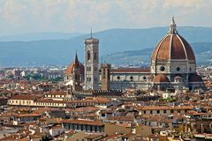 Duomo Santa Maria Del Fiore, Florence Stock Photo