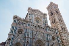 Duomo Santa Maria Del Fiore i Piazzale Michelangelo i Florence, Tuscany, Italien Royaltyfri Fotografi