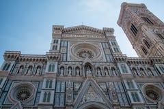 Duomo Santa Maria Del Fiore i Piazzale Michelangelo i Florence, Tuscany, Italien Royaltyfri Foto