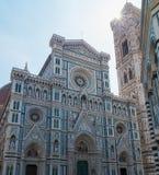 Duomo Santa Maria Del Fiore i Piazzale Michelangelo i Florence, Tuscany, Italien Royaltyfria Bilder