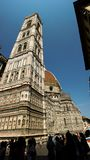 Duomo Firenza in panoramic view Royalty Free Stock Image
