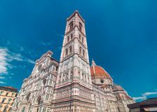 Santa Maria del Fiore church in Florence Royalty Free Stock Photography