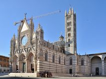 The Duomo of Siena Stock Photography