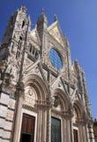 Duomo of Siena Stock Image