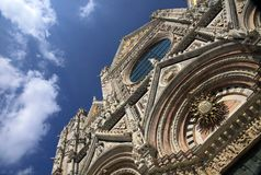 Duomo of Siena Stock Images