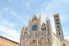 Duomo in Siena Royalty-vrije Stock Fotografie