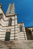 Duomo in Siena Italy Royalty Free Stock Images
