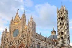 Duomo in siena, italy Stock Image