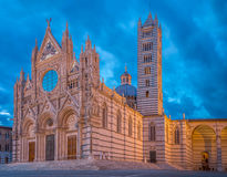 Duomo in Siena royalty free stock photography