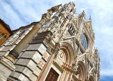 Duomo of Siena, Tuscany, Italy. Siena cathedral Royalty Free Stock Image