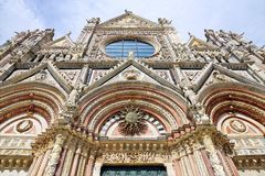 Duomo of Siena, Tuscany, Italy. Siena cathedral Stock Images