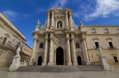 Duomo Siracusa Стоковые Фотографии RF