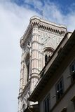 Duomo Square and the tower, Florence, Italy Royalty Free Stock Photography