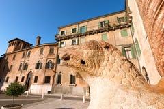 Duomo Square -  Verona Italy Royalty Free Stock Photography