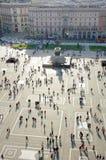 Duomo Square Stock Image