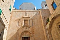 Duomo of St. Corrado. Molfetta. Puglia. Italy. Stock Images