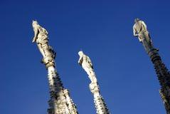 Duomo statues Stock Photos