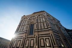 Duomo sun flare Stock Photography