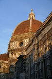 Duomo at sunset royalty free stock image