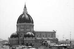 Duomo Tonti de Cerignola Imágenes de archivo libres de regalías