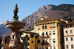 Duomo Trento della piazza Fotografie Stock Libere da Diritti