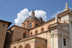 Duomo in Urbino Royalty Free Stock Image
