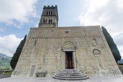 Duomo van Barga Stock Foto