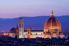 Duomo van Florence stock fotografie