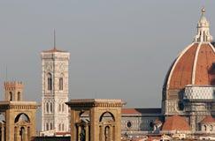 Duomo van Florence in ochtend stock afbeelding