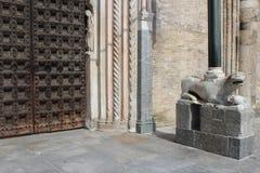 Duomo van lodi Stock Foto
