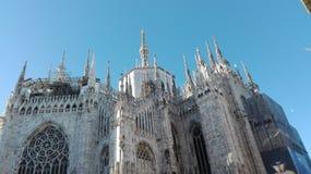 Duomo van Milaan Royalty-vrije Stock Foto's
