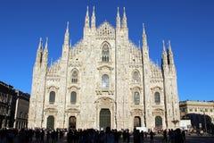 Duomo van Milaan Royalty-vrije Stock Afbeelding